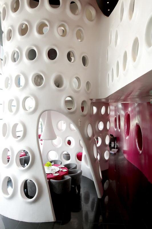 蜂巢总面积达1000多平方米,邀请日本著名设计师卅口依据空间图片