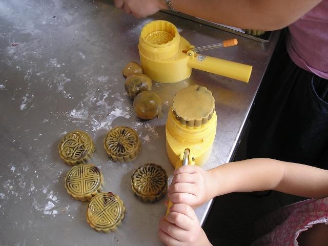 橡皮泥月饼手工制作步骤