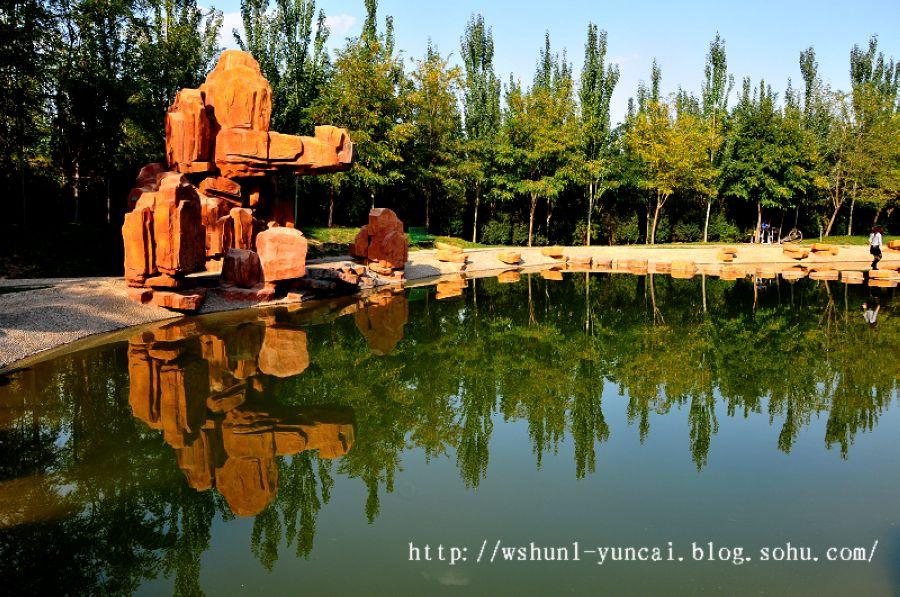 银川森林公园私人和庭院随摄公园设计教程别墅景色图片