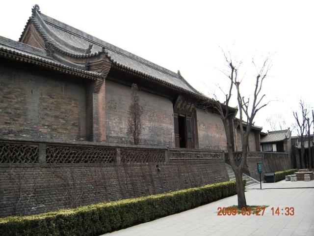 平遥县大戏堂-2   平遥文庙-1