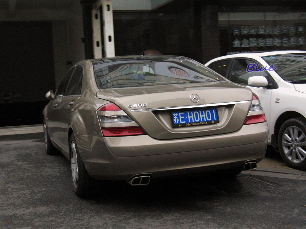 收集全国新奔驰S600