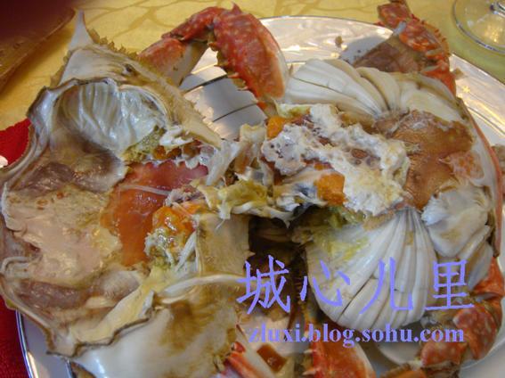 [吃喝写手] 天津塘沽周记名都海鲜大酒楼周末大餐(组图