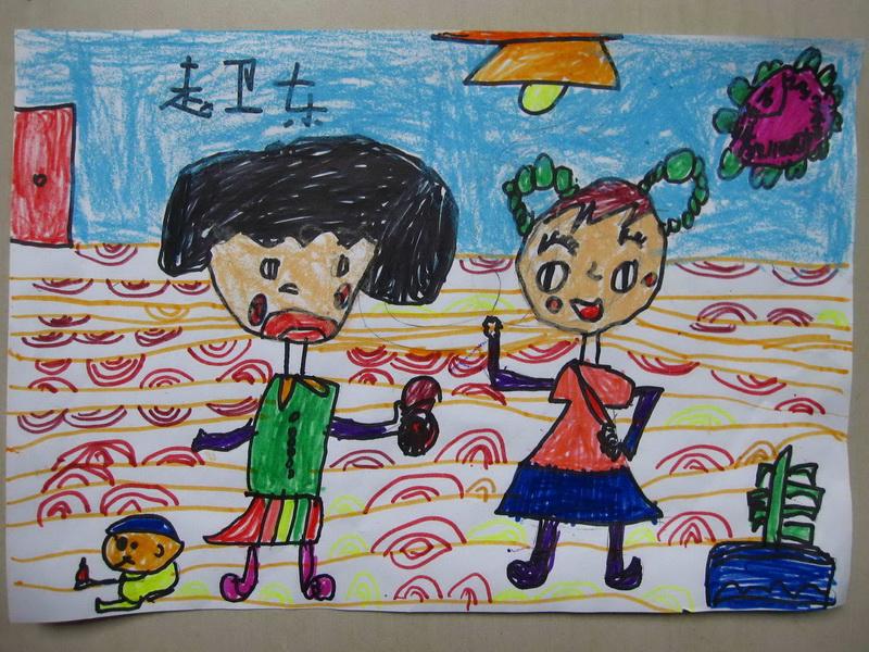 水粉画与儿童画