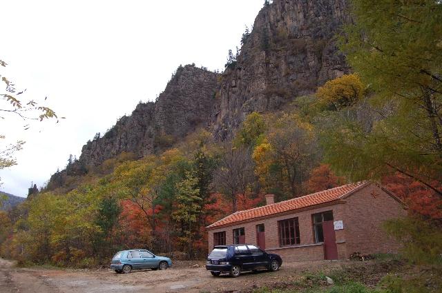 鸳鸯峰景区管理办公室和山道