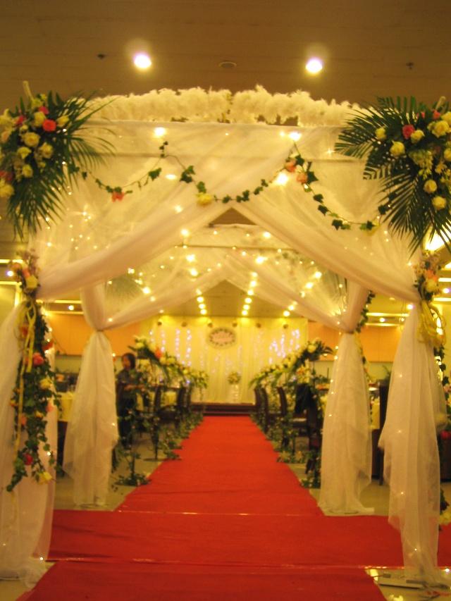 婚礼欧式四角亭