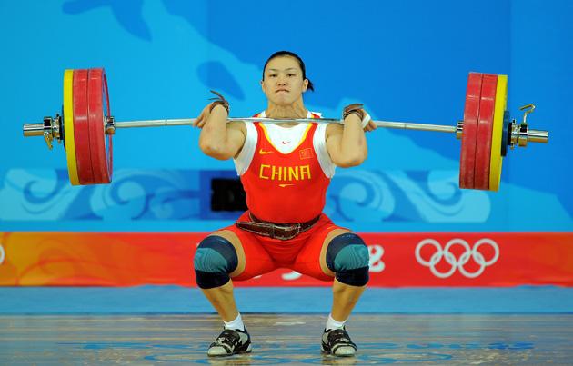 喜看女子奥运冠军英姿