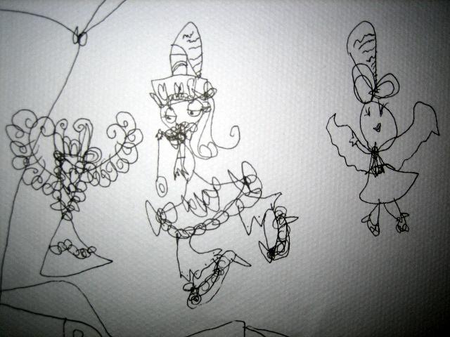 美术学画画古代裙子