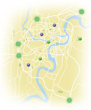 480亿打造森林重庆 主城将建53条花园大道