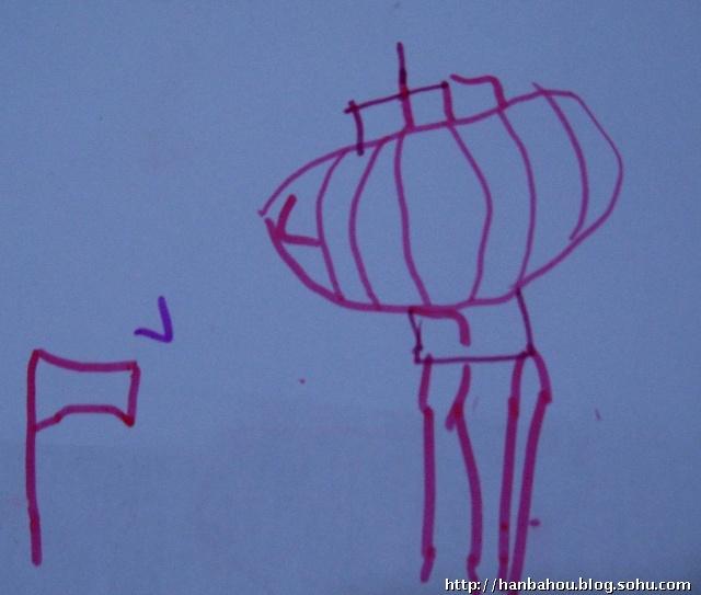 幼儿园家庭作业画画我和妈妈