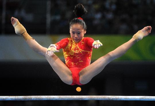 北京奥运会我最喜欢的两个运动员 - 妞妞心情的