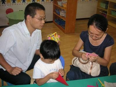 和爸爸妈妈一起做灯笼-神龙幼儿园-搜狐博客