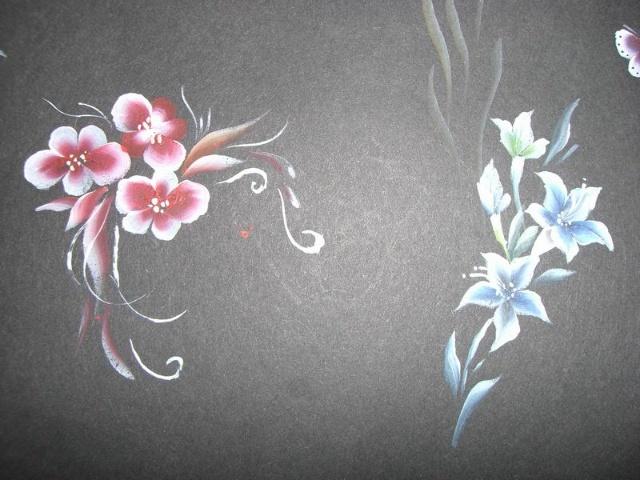 美甲立体彩绘花型