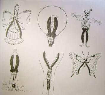 共生图形创意设计内容共生图形创意设计版面设计图片
