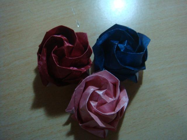 折纸玫瑰花-亲亲我的宝贝-搜狐博客