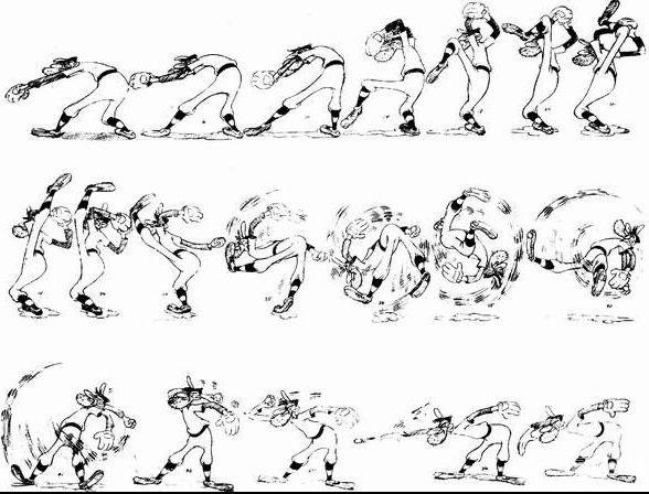四足动物拟人运动规律大全-彼岸花开#常夏的小窝