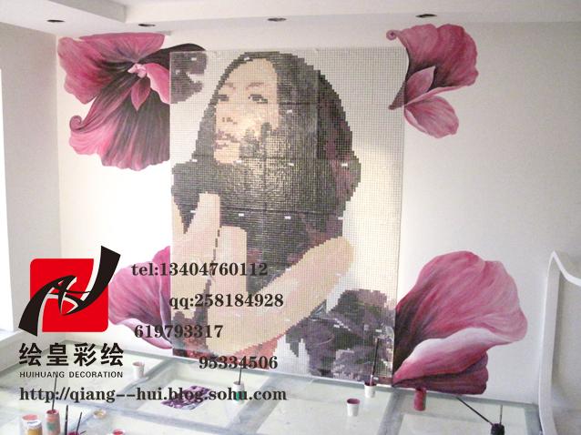 长春墙体彩绘 长春手绘墙图片