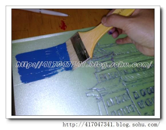 制作过程 教育/吹塑纸版画制作过程图/ T1075 / 天桥教育博...