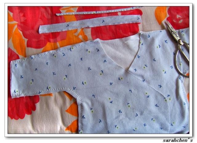 和服图纸裁剪婴儿图纸航模千克三图片