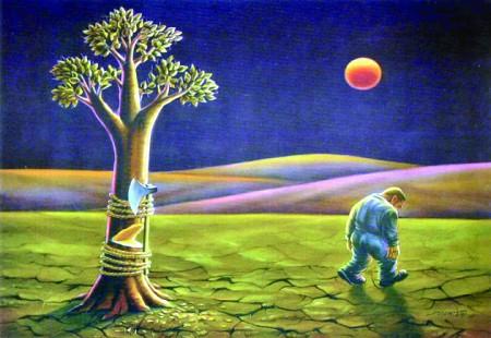 专题漫画 善待地球