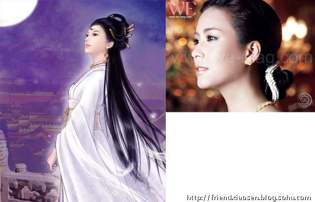 几十位泰国明星穿上中国古装