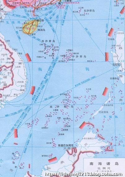 越南马来西亚所提交外大陆架划界案细节曝光