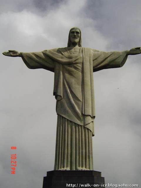 巴西耶稣像简笔画