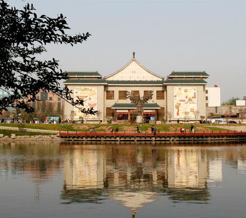 潍坊风筝博物馆 动感图片 景点介绍