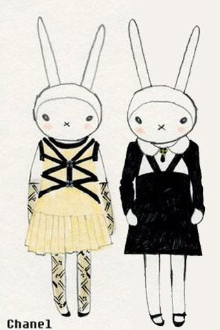 史上最时髦的兔子fifi