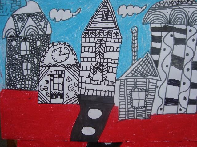 我的家乡农村简笔画内容我的家乡农村简笔画图片