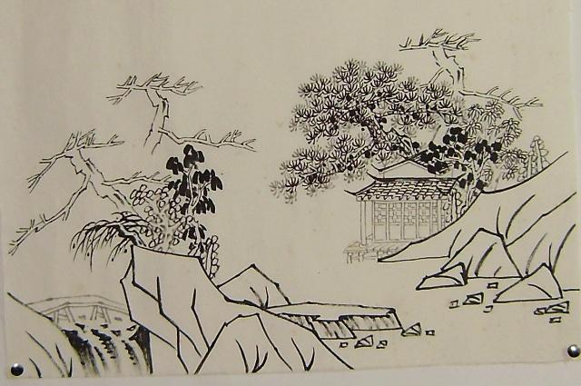 松树的画法