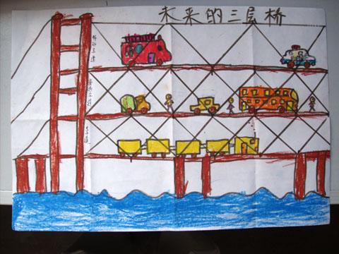 儿童画大海的图画内容图片展示