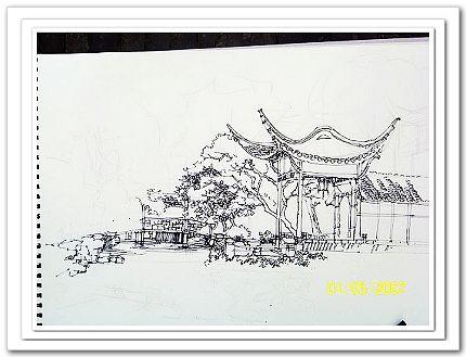苏州园林博物馆的(耽美)雕像
