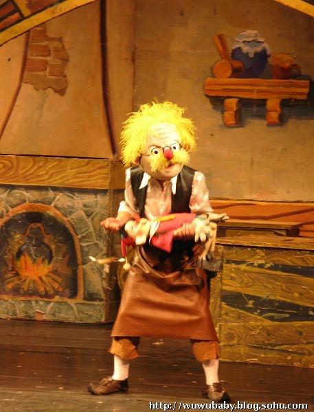 儿童节快乐——木偶剧院看《木偶奇遇记》