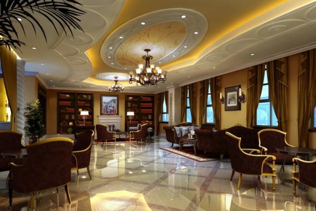 欧式风格之售楼部设计