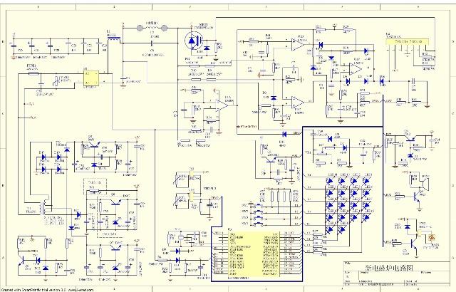 电磁炉电路原理图-创信电子设计-搜狐空间