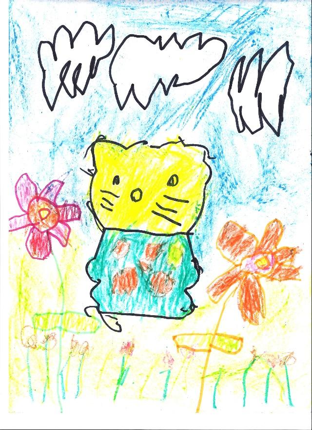 幼儿园葫芦瓢绘画图片 卡通